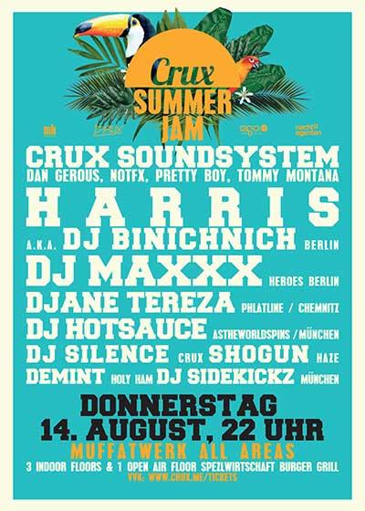 Super Paper Crux Summer Jam