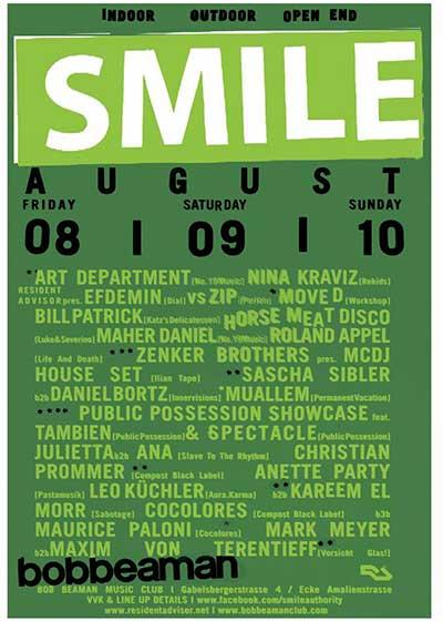 Super Paper Smile Festival Bobbeaman