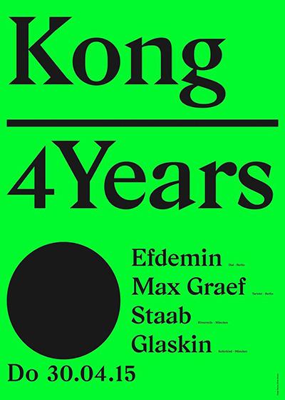 4 Years Kong