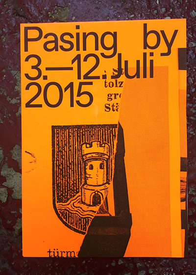 Pasing by
