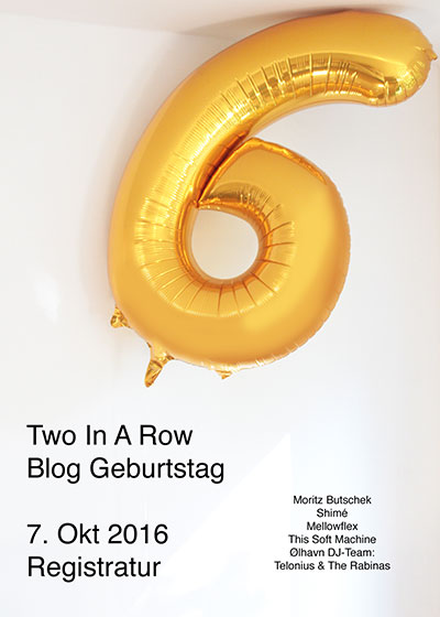 6 Jahre Two in a Row