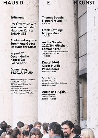Kapselausstellungen Haus der Kunst