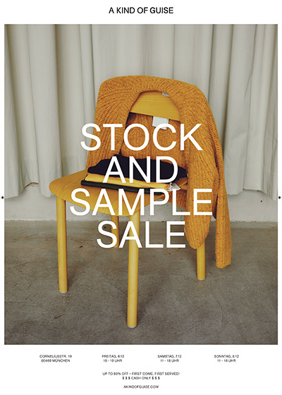 AKOG Sample Sale